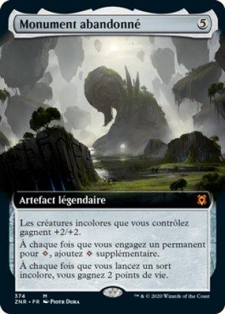 Monument abandonné - magic-ville.com