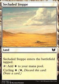 Secluded Steppe - Commander 2015