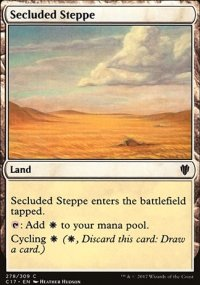 Secluded Steppe - Commander 2017