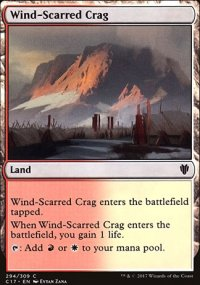 Wind-Scarred Crag - Commander 2017