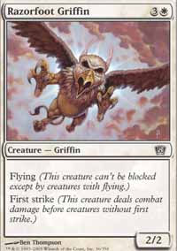 Razorfoot Griffin - 8th Edition