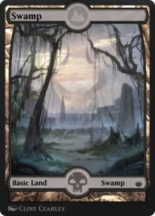 Swamp 4 - Amonkhet Remastered