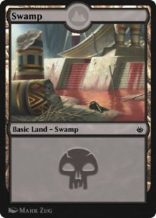 Swamp 5 - Amonkhet Remastered