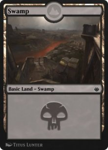 Swamp 7 - Amonkhet Remastered