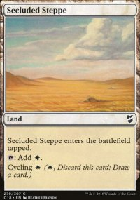 Secluded Steppe - Commander 2018