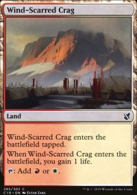 Wind-Scarred Crag - Commander 2019
