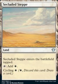 Secluded Steppe - Commander 2020
