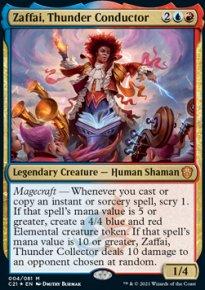 Zaffai, Thunder Conductor -