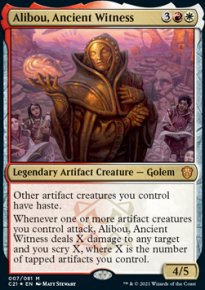 Alibou, Ancient Witness -