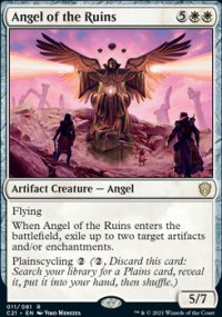 Angel of the Ruins -