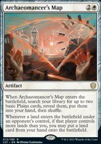 Archaeomancer's Map -