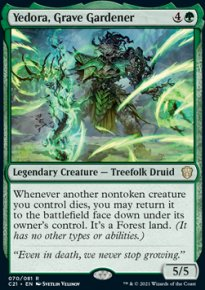 Yedora, Grave Gardener -