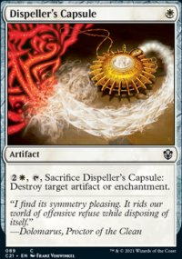 Dispeller's Capsule -
