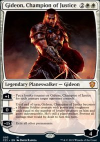Gideon, Champion of Justice -