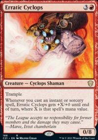 Erratic Cyclops -