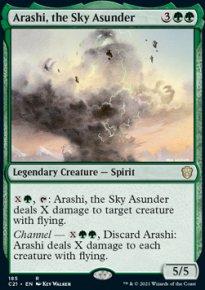 Arashi, the Sky Asunder -