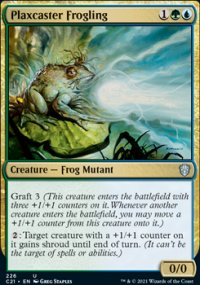 Plaxcaster Frogling -