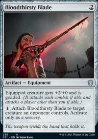 Bloodthirsty Blade -