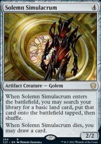 Solemn Simulacrum -