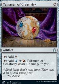 Talisman of Creativity -