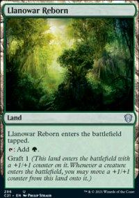 Llanowar Reborn -