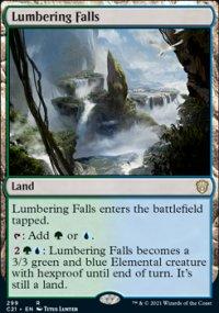 Lumbering Falls -