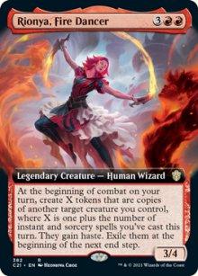 Rionya, Fire Dancer -