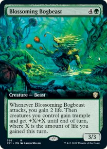 Blossoming Bogbeast -