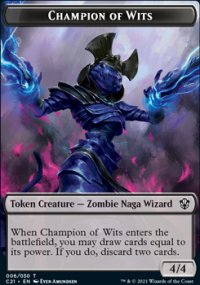 Champion of Wits Token -