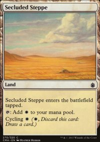 Secluded Steppe - Commander Anthology