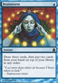 Brainstorm - MTG Commander