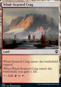 Wind-Scarred Crag - Commander Legends