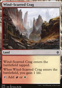 Wind-Scarred Crag - Throne of Eldraine