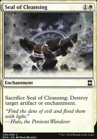 Seal of Cleansing - Eternal Masters