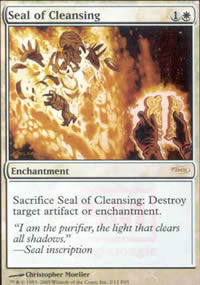 Seal of Cleansing - FNM Promos