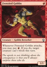 Frenzied Goblin - Guilds of Ravnica - Guild Kits