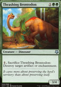 Thrashing Brontodon - Game Night