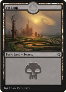 Swamp 3 - Kaladesh Remastered