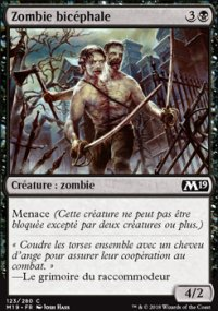 Zombie bicéphale -