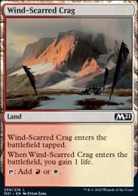 Wind-Scarred Crag - Core Set 2021