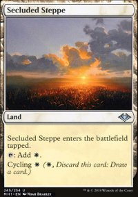 Secluded Steppe - Modern Horizons