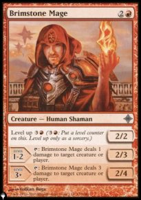 Mage sulfureux -