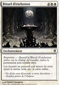 Rituel d'exclusion -