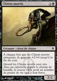 Chiens mortis -