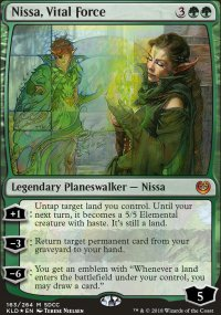 Nissa, force vitale -