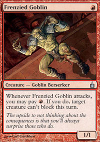 Frenzied Goblin - Ravnica: City of Guilds