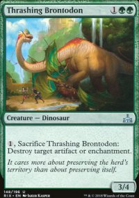 Thrashing Brontodon - Rivals of Ixalan
