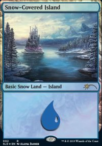 Snow-Covered Island -