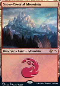 Snow-Covered Mountain -