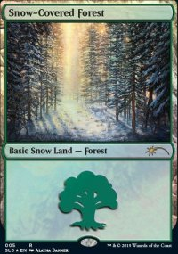 Snow-Covered Forest -